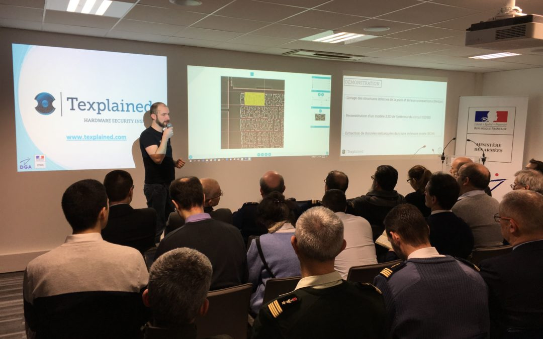 Texplained presented ChipJuice to The French Government