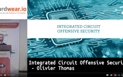 Integrated Circuit Offensive Security | Olivier Thomas from Texplained | hardwear.io USA 2019
